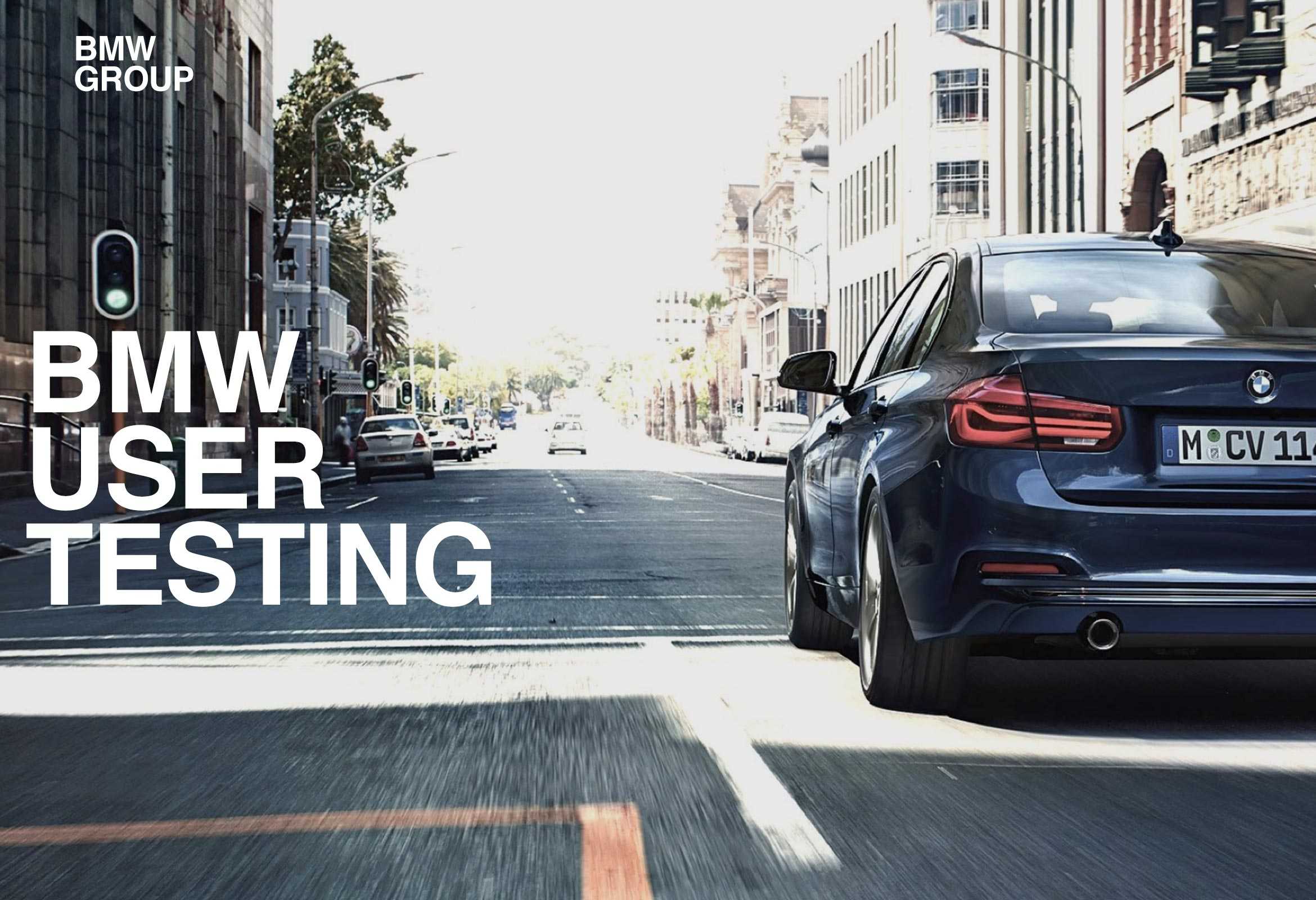 BMW - User testing, Experience Lead